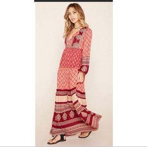 R By Raga For Forever 21 Womens Boho Maxi Dress